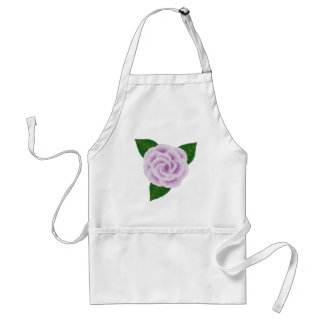 Tablier rose de lavande