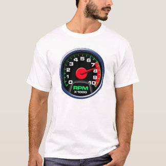 Tachometer bei 7600 U/min T-Shirt