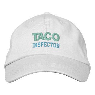 TACO-INSPEKTOR-Kappe (Mehrfarben) Bestickte Kappe