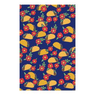 Taco-Liebhaber-Fiesta Briefpapier