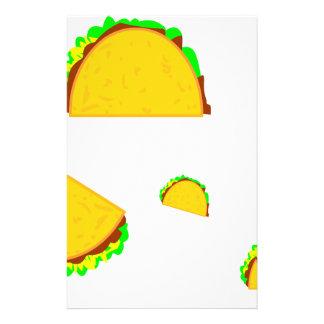 Taco-Regel Briefpapier