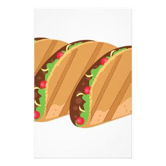 Tacos Briefpapier