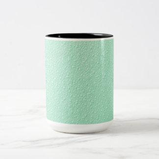 Tadellose grüne modische Pastellfarben Zweifarbige Tasse