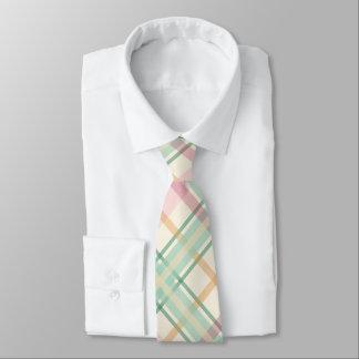tadelloser rosa Tartan kariert Krawatten