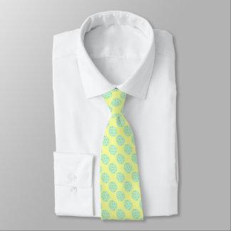 Tadelloses Osterei mit Punkten und Confetti Individuelle Krawatte