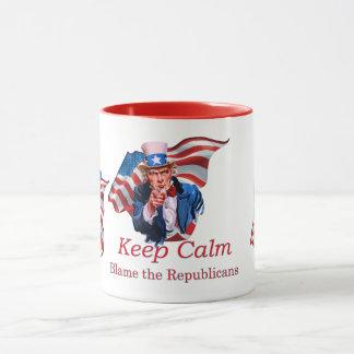 Tadeln Sie die Republikaner Tasse