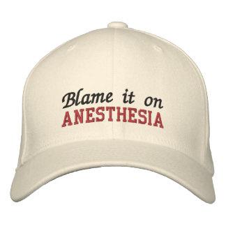 Tadeln Sie es auf Anästhesie Bestickte Baseballkappe