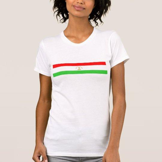 Tadschikistan-Landesflaggenationssymbol T-Shirt