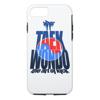 Taekwondo-Gebirgskampf - Kunst iPhone 7 Fall iPhone 8/7 Hülle