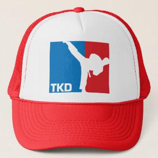 Taekwondo-Hut rotes v.2 Truckerkappe