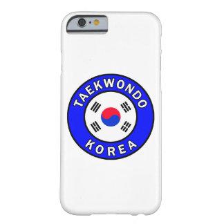 Taekwondo-Telefonkasten Barely There iPhone 6 Hülle
