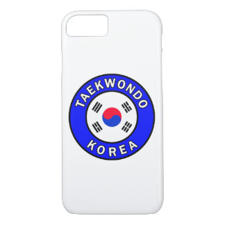 Taekwondo-Telefonkasten iPhone 8/7 Hülle