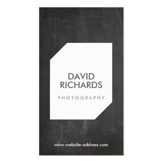 TAFEL-FOTO-LOGO Fotograf-Geschäfts-Karte Visitenkarten