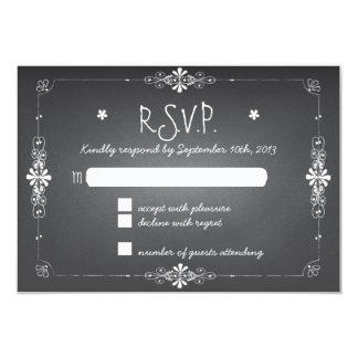 Tafel-Hochzeit UAWG Wartekarte 8,9 X 12,7 Cm Einladungskarte