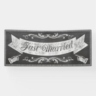 Tafel-Hochzeits-Fahne CBWX Banner