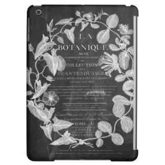 Tafel scripts französisches botanisches