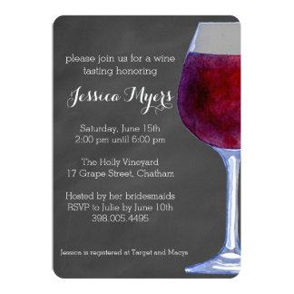 Tafel-Wein-Einladung 12,7 X 17,8 Cm Einladungskarte