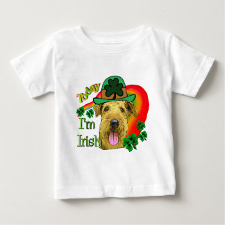 Tag Airedales Terrier St Patrick Baby T-shirt