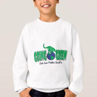 Tag der Erde gehen Grün Sweatshirt