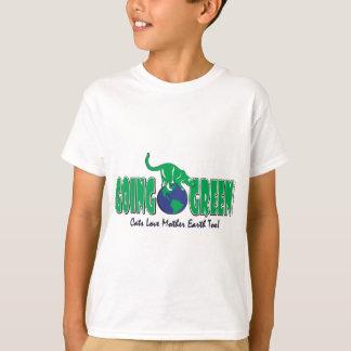 Tag der Erde gehen Grün T-Shirt