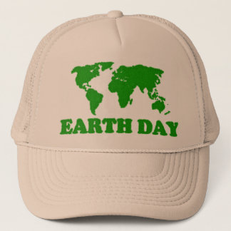 Tag der Erde-Gras-Karten-Hut Truckerkappe