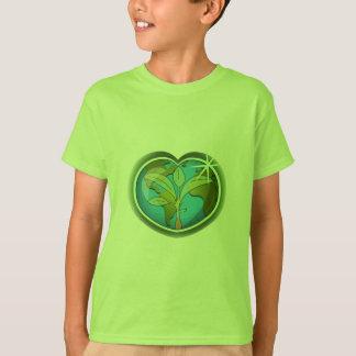 Tag der Erde-Herz T-Shirt