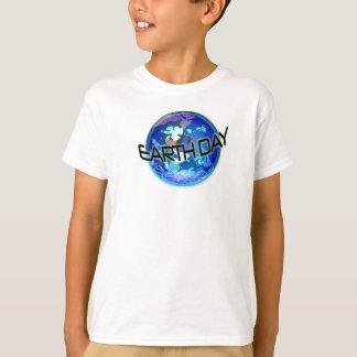 Tag der Erde im Blau T-Shirt