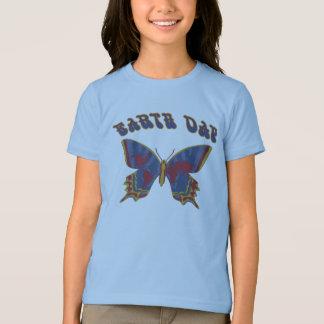 Tag der Erde Retro T-Shirt