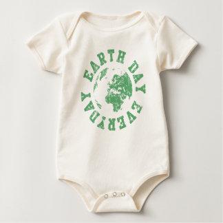 Tag der Erde täglich Baby Strampler