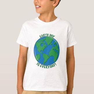 Tag der Erde täglich T-Shirt