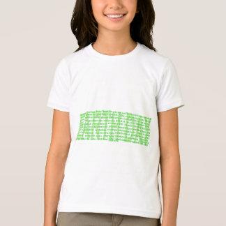 Tag der Erde-Wörter T-Shirt