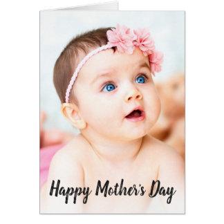 Tag der Foto-der glückliche Mutter Karte
