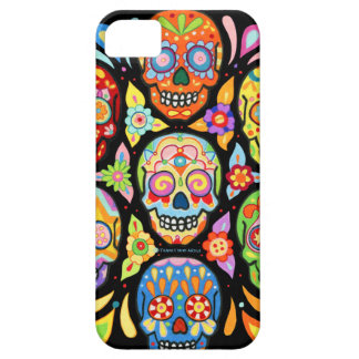 Tag der Toten Schädel iPhone 5 Schutzhüllen