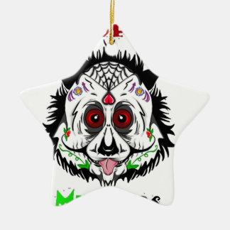 Tag des toten Pandas Keramik Ornament