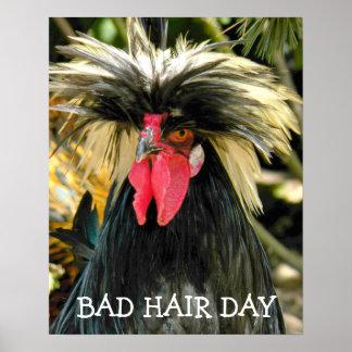Tag-Huhn Poster