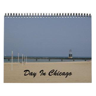 Tag in Chicago-Kalender Kalender