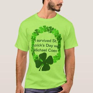 Tag St. Patricks mit Micheal Coen T-Shirt