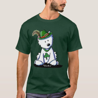 Tag Westie KiniArt St. Pattys T-Shirt