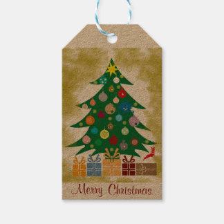 Tags für Geschenk von Weihnachten Geschenkanhänger