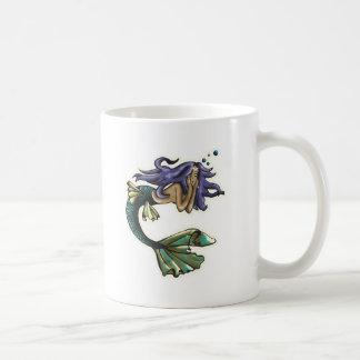 Tagtraum-Meerjungfrau Kaffeetasse