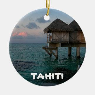 Tahiti-Lagune-festliche Kreis-Verzierung Keramik Ornament