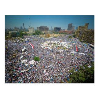 Tahrir quadratisches Ägypten am 29. Juli 2011 Frei Postkarte