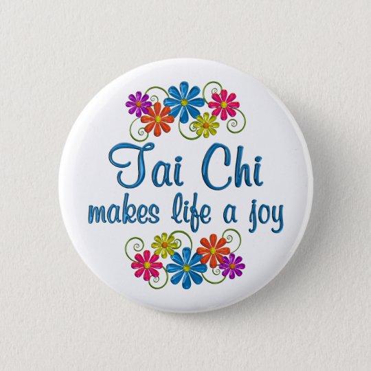 Tai-Chi-Freude Runder Button 5,7 Cm