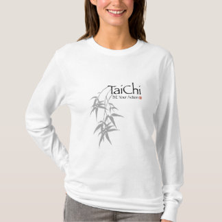 "Tai-Chi ""ist Ihre Aktions-"" grafisches helles T-Shirt"