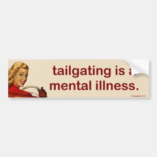 Tailgating… Autoaufkleber