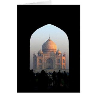 Taj Mahal Licht des Karte