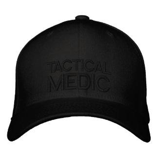 Taktischer Mediziner flache Flexfit Kappe Bestickte Baseballmütze