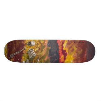 Tal des trockenen Knochen-Skateboards Personalisierte Skateboarddecks
