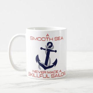 """""""Talentierter Seemann"""" inspirierend Kaffeetasse"""