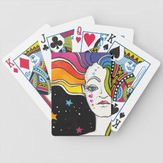 Tallulah Pop-Kunst-Diva Bicycle Spielkarten